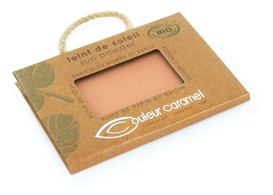 Sun powder n°022 - Pearly golden beige