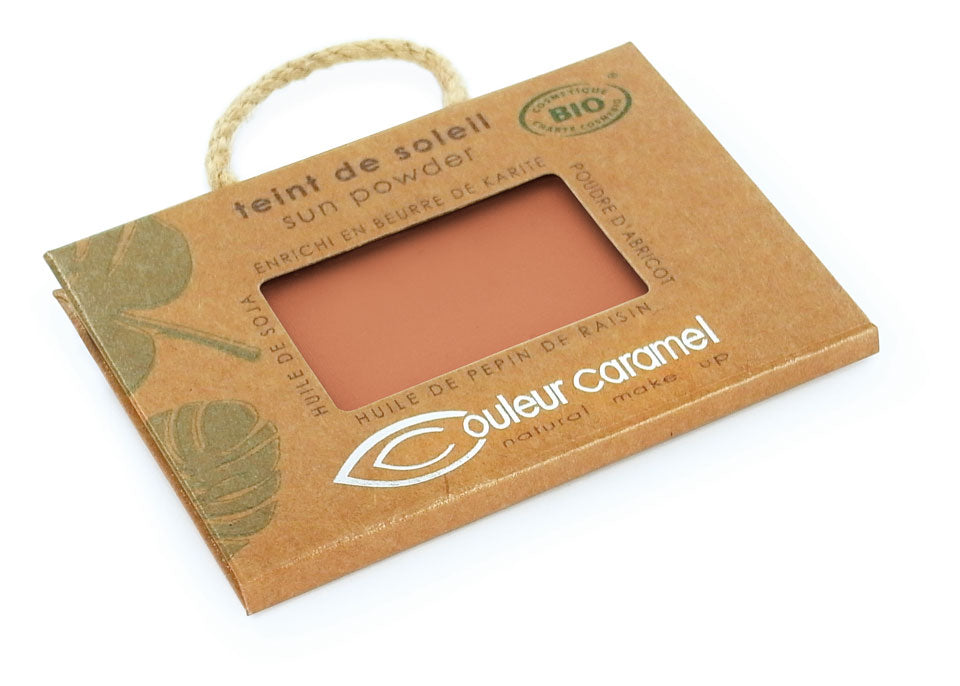 Sun powder n°025 - Pearly orange brown