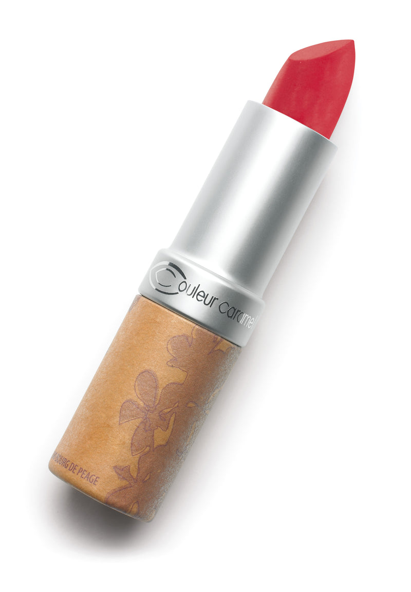 Matte lipstick n°125 - Fire red