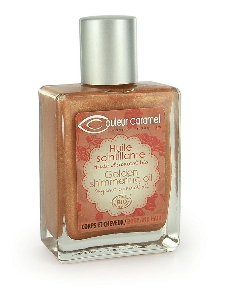 Golden shimmering oil 50ml
