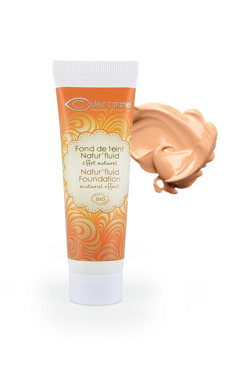 Natur'fluid Foundation n°13 - Apricot beige