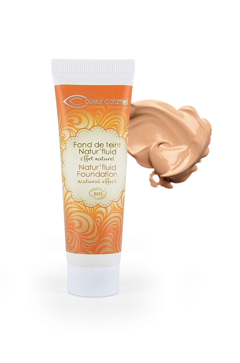 Natur'fluid Foundation n°14 - Golden beige