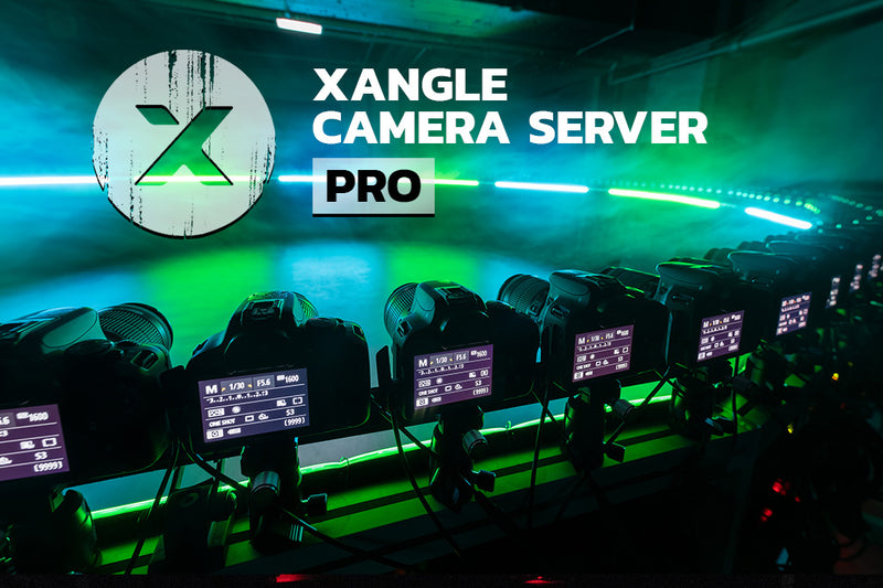 Xangle Camera Server Pro - bullet-time software