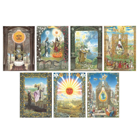 Splendor Solis | postcard set - Embassy of the Free Mind