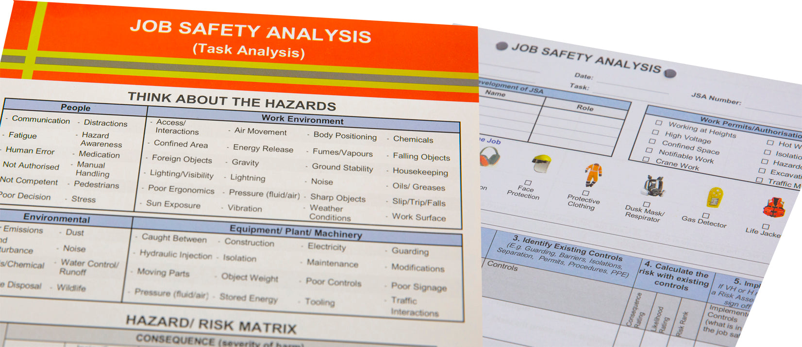 Job Safety Analysis (JSA) Pad
