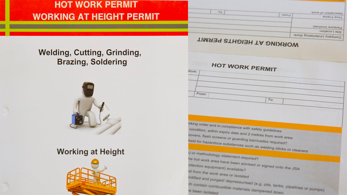 Hot Work Permit - Working At Height Permit