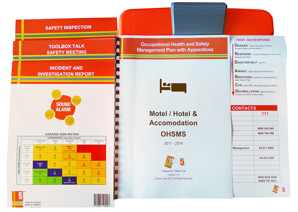 Hotel, Motel and Accommodation - Digital Health and Safety Management System