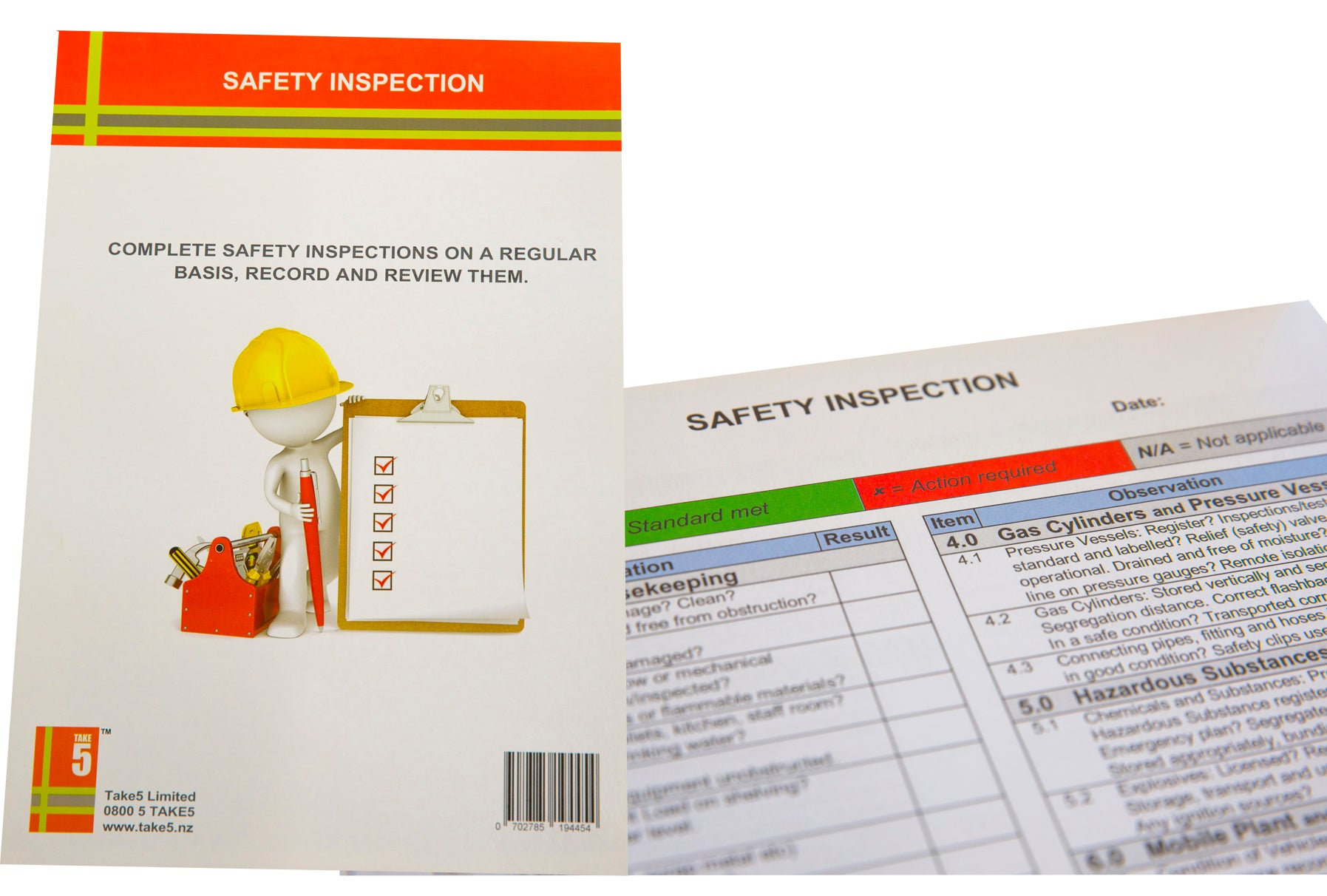 Safety Inspection Pad