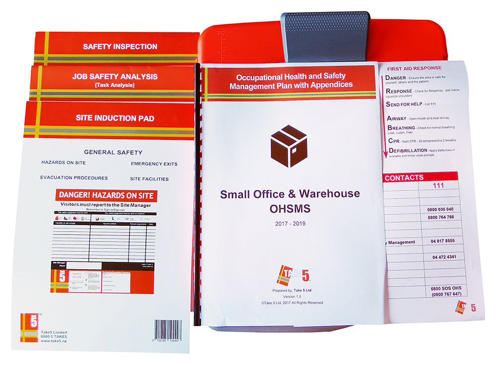 Small Office and Warehouse - Digital Health and Safety Management System