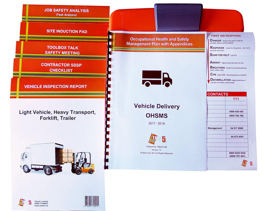 Truck / Courier Delivery - Digital Health and Safety Management Plan