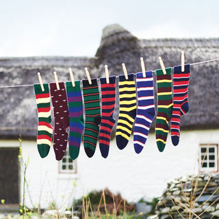 Men's Black Watch Cotton Socks