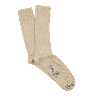Men's Rib Wool & Cotton Socks