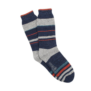 Regular Donegal Wool Stripe Sock