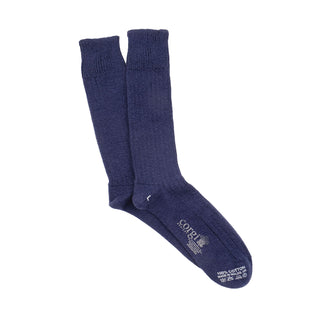 Men's Rib Pure Cotton Socks