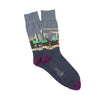 Men's City Cycling Scene Cotton Socks