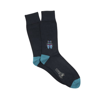 Men's Beetle Cotton Socks
