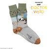 Men's Doctor Who Chengdu Scene Cotton Socks