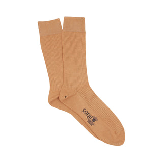 Men's Rib Mercerised Cotton Socks