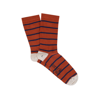 Women's Breton Stripe Cotton Socks