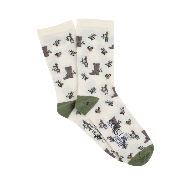 Women's Gardening Cotton Socks