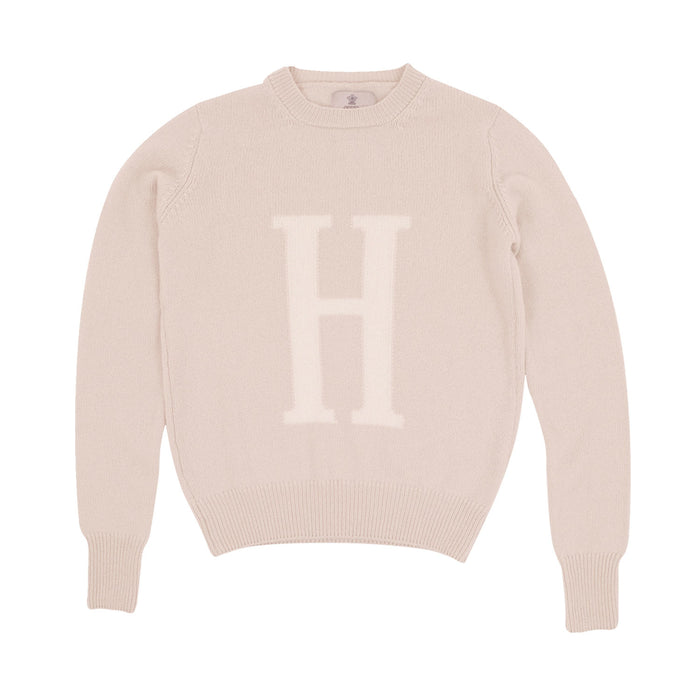 Women's Pure Cashmere Personalised Letter Jumper
