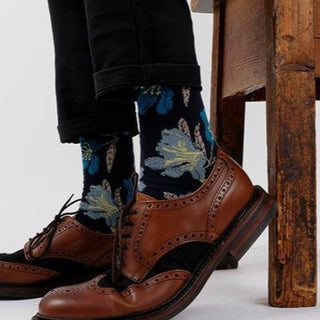 Men's Blossom Cotton Socks