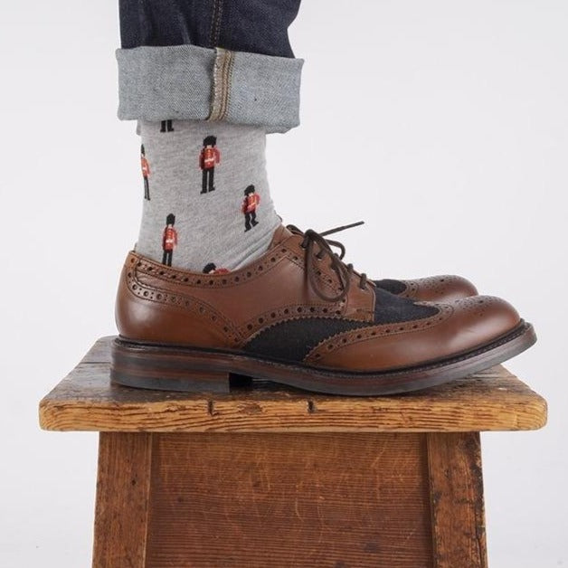 Men's Queen's Guard Cotton Socks