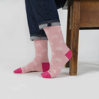 Women's Bicycle Cotton Socks