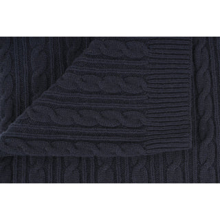 Cable Wool Blanket