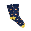 Women's Corgi Dog Cotton Socks
