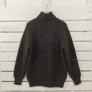 Men's Fisherman Style Donegal Wool Sweater