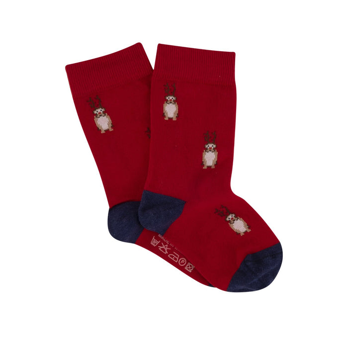 Children's Reindeer Cotton Socks