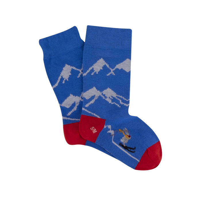 Children's Skiing Cotton Socks