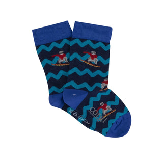 Children's Snowboarder Cotton Socks