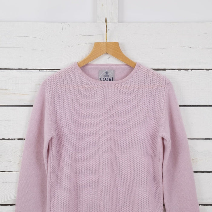 Women's 'Honeycomb' Cashmere Sweater