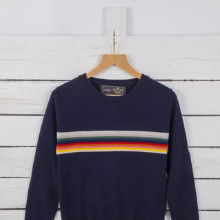 Doctor Who Unisex Striped Wool Jumper