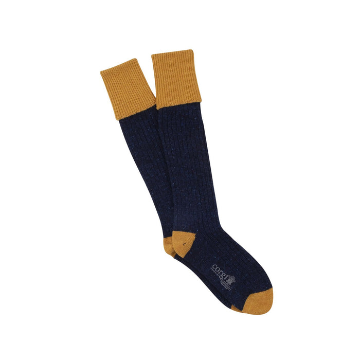 Men's Welly Boot Donegal Wool Sock