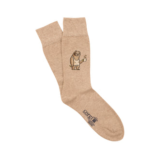 Men's Lazy Sloth Cotton Socks