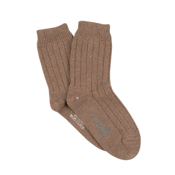 Women's Pure Cashmere Short Lounge Socks