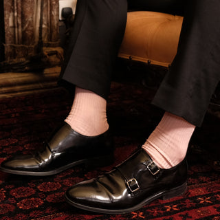 Men's True Rib Mercerised Cotton Socks