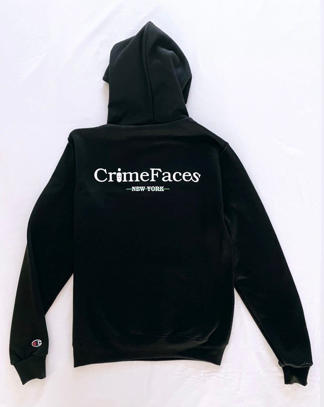 CRIMEFACES AUTHENTIC LOGO HOODIE