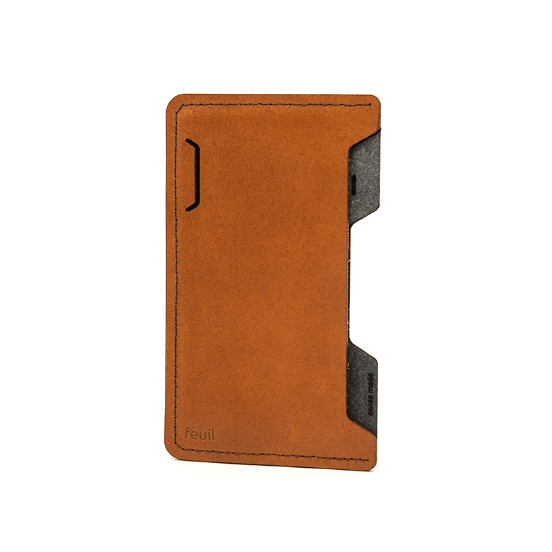 Smartphone Etui | SLICE LEATHER | Ambra-feuil accessories