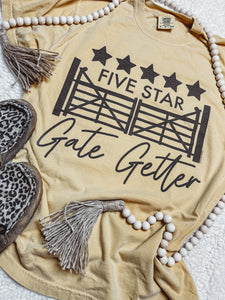 Five Star Gate Getter Graphic Tee