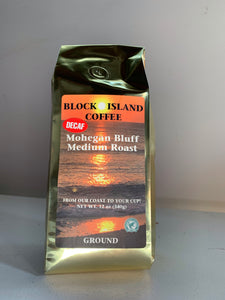 Mohegan Bluffs Medium Roast-DECAF- Ground