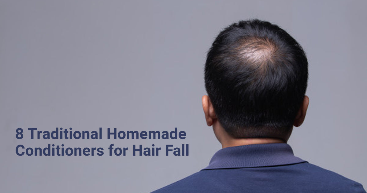 homemade conditioners for hair fall
