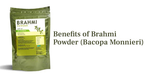 Must know benefits of Brahmi powder (Bacopa Monnieri)