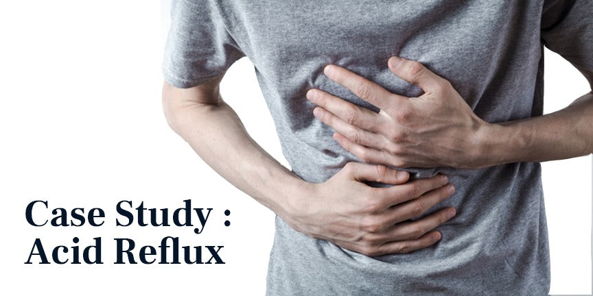 A Case Study Of Acid Reflux Treated by Ayurveda