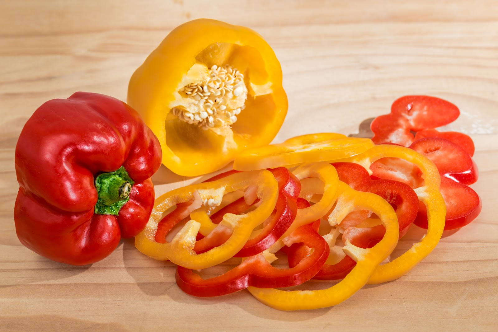 Bell Peppers to reduce enlarged  prostate with diet