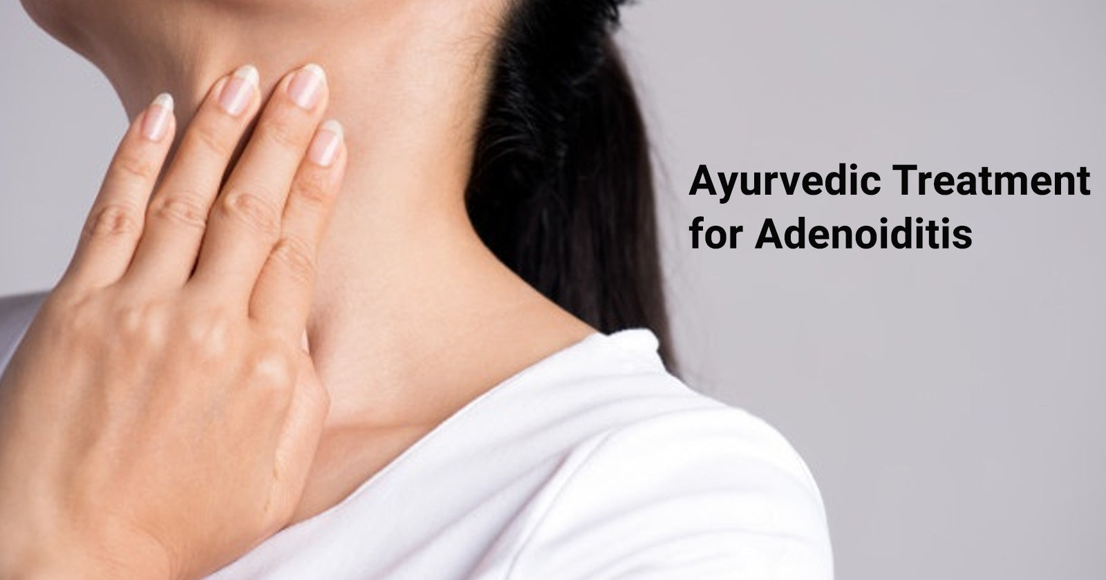 ayurvedic treatment for adenoiditis