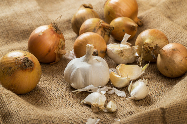 onion and garlic for enlarged prostate